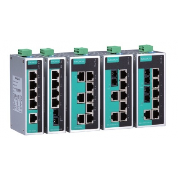 5 and 8-port unmanaged Ethernet switches