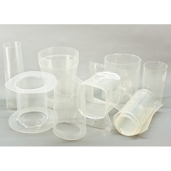 Clear-Flex Polyurethane custom sleeves