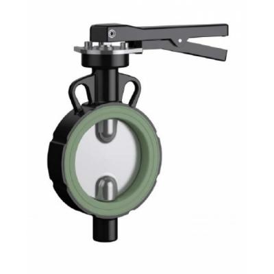 Hazardous materials butterfly valve