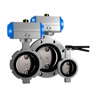 Butterfly valves for ATEX and PED areas