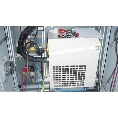 Système dynamique pour le refroidissement ou chauffage par air comprimé.