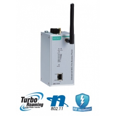 Entry-level industrial IEEE 802.11a/b/g/n wireless AP/client