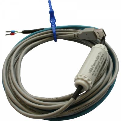 USB-voedingskabel voor 24VDC